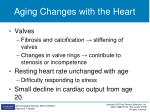 aging changes with the heart1