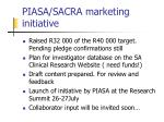 piasa sacra marketing initiative