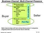business channel multi channel presence