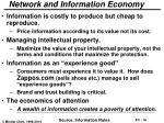 network and information economy
