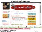 www parentsoup com