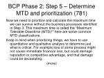 bcp phase 2 step 5 determine mtd and prioritization 781