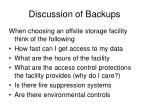 discussion of backups2