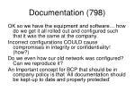 documentation 798