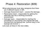 phase 4 restoration 809