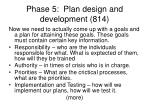phase 5 plan design and development 814