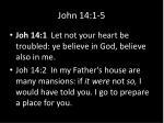 john 14 1 5
