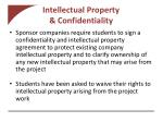 intellectual property confidentiality