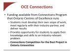 oce connections