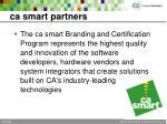 ca smart partners