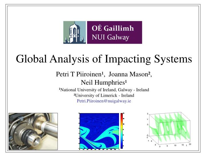 global analysis of impacting systems n.