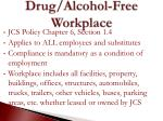 drug alcohol free workplace