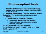 iii conceptual tools