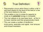 true definition