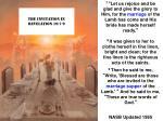 the invitation in revelation 19 7 9