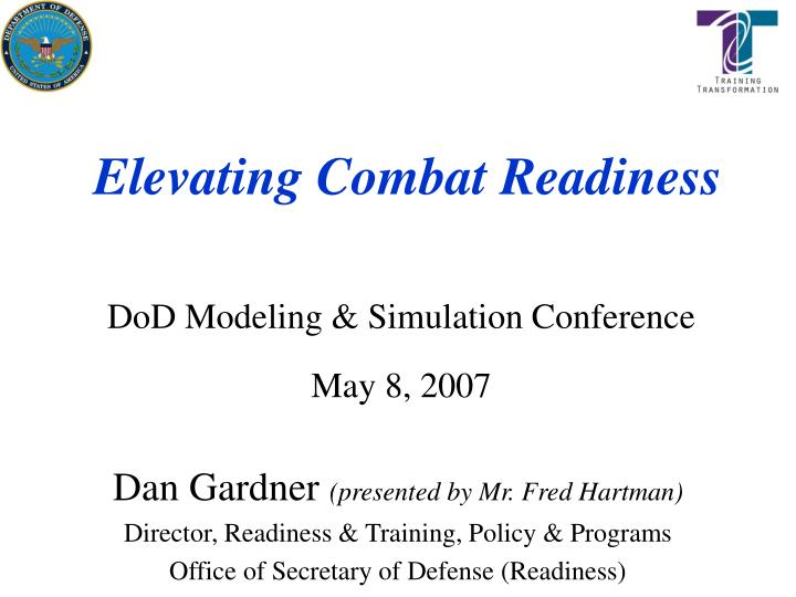elevating combat readiness n.