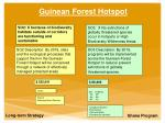 guinean forest hotspot