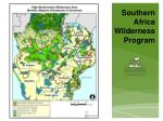 southern africa wilderness program