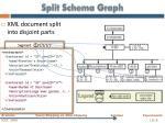 split schema graph
