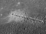 crater chain on moon
