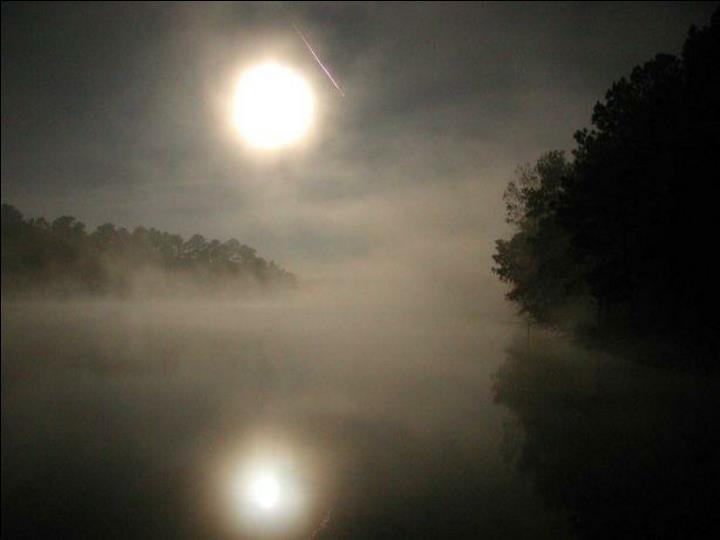 Leonids '02, lake moon