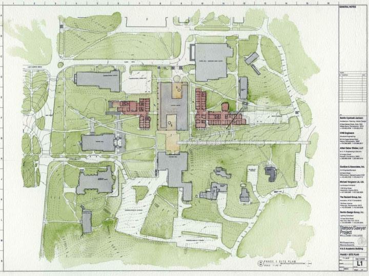 Stetson sawyer project progress report bohlin cywinski jackson architects january 24 2007