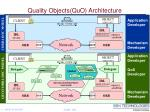 quality objects quo architecture