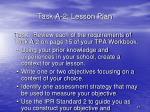 task a 2 lesson plan1