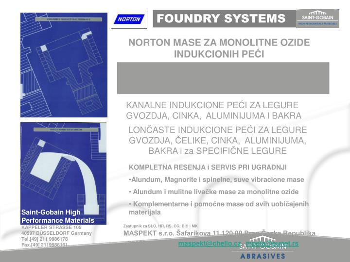 FOUNDRY SYSTEMS