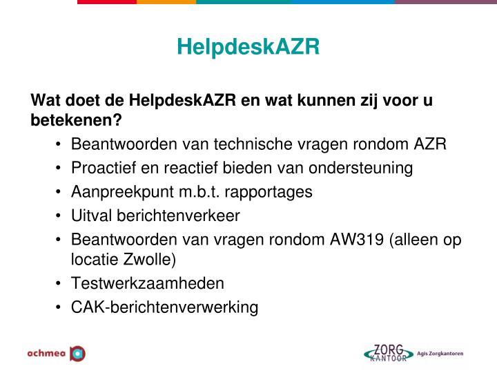 HelpdeskAZR
