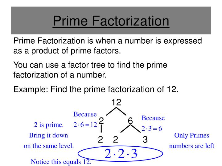 Ppt Greatest Common Factor Gcf And Least Common Multiple Lcm