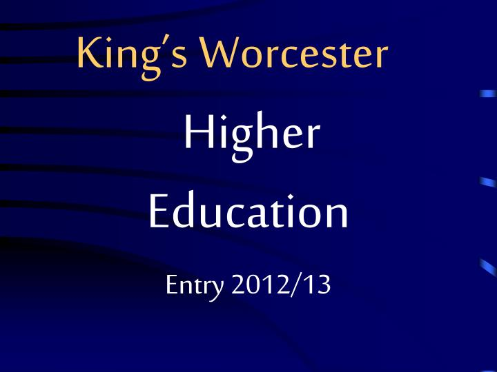 king s worcester n.