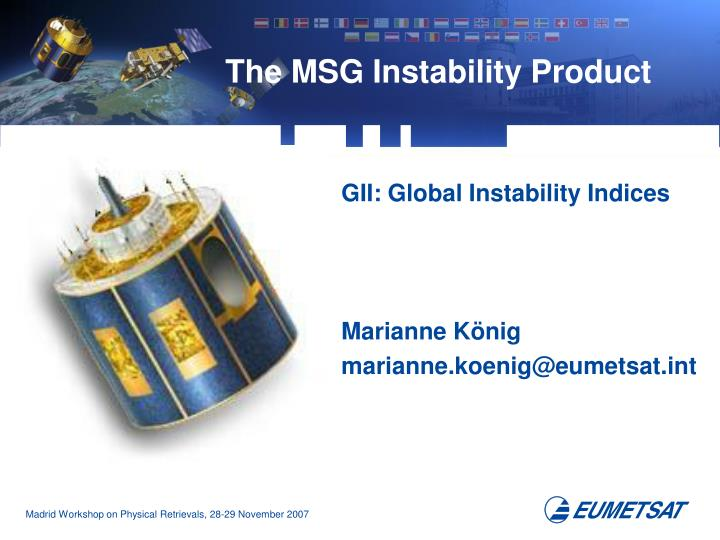 the msg instability product n.