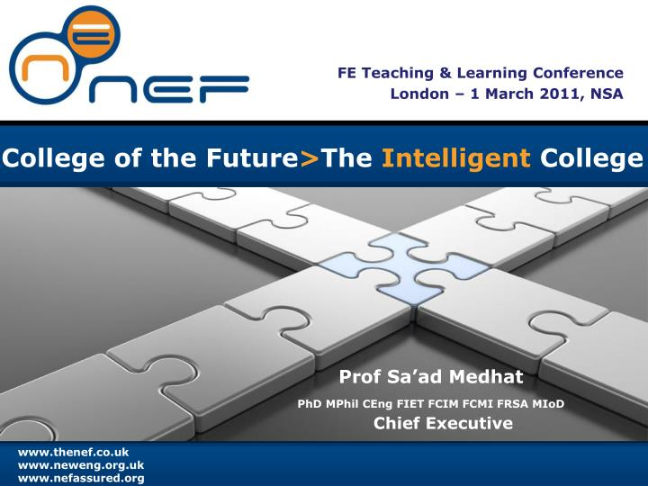 fe teaching learning conference london 1 march 2011 nsa n.