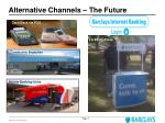 alternative channels the future