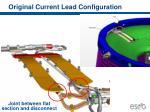 original current lead configuration
