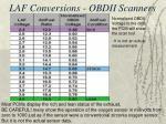 laf conversions obdii scanners