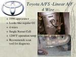 toyota a fs linear a f 4 wire