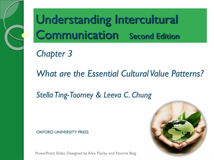 understanding intercultural communication second edition n.