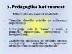1 pedagogika kot znanost1