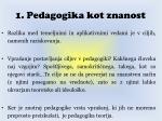 1 pedagogika kot znanost15