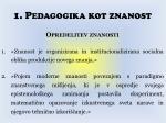1 pedagogika kot znanost2