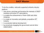 sacf mission