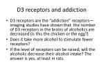 d3 receptors and addiction