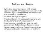 parkinson s disease1