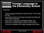 foreign language in the elementary school2