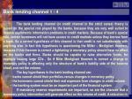 bank lending channel 1 4