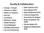 faculty collaborators