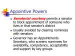 appointive powers1