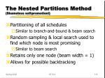 the nested partitions method shameless self promotion